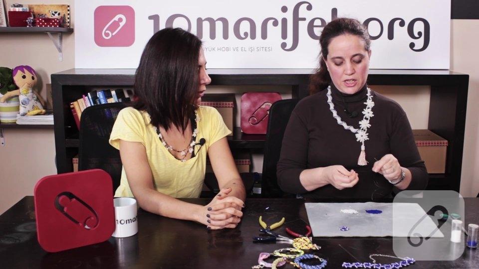 Video: Kum boncuk ile düz peyote nasıl yapılır?