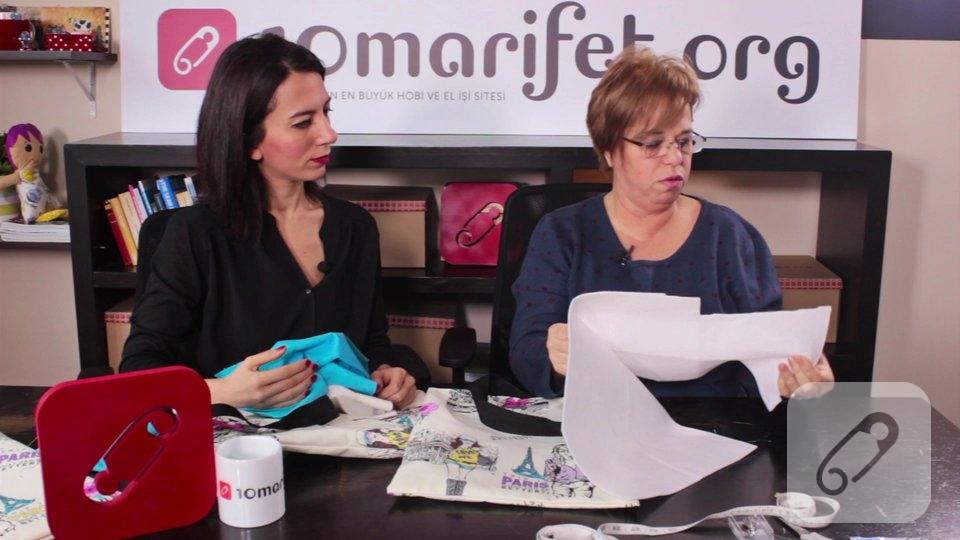 Video: Kumaş çanta nasıl yapılır? – 2