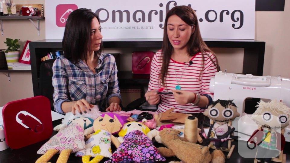 Video – Oyuncak kumaş bebek yapımı-1