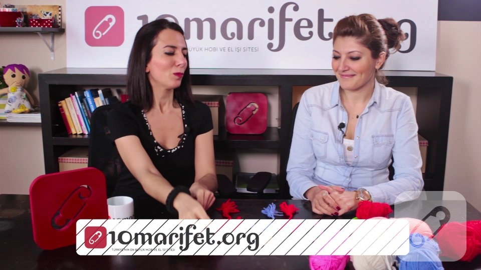 Video: Tığ işi çiçek nasıl yapılır? – 2