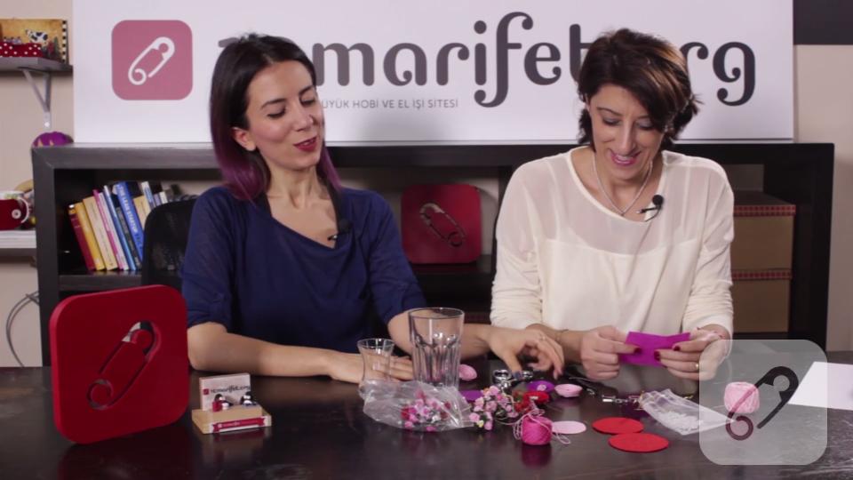 Video: Keçe çiçek nasıl yapılır?