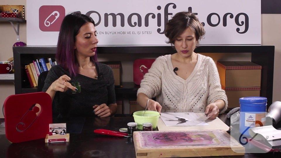 Video: Kumaş üzerine baskı nasıl yapılır?
