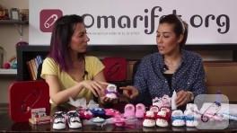 Video: Bebek ayakkabısı süsleme