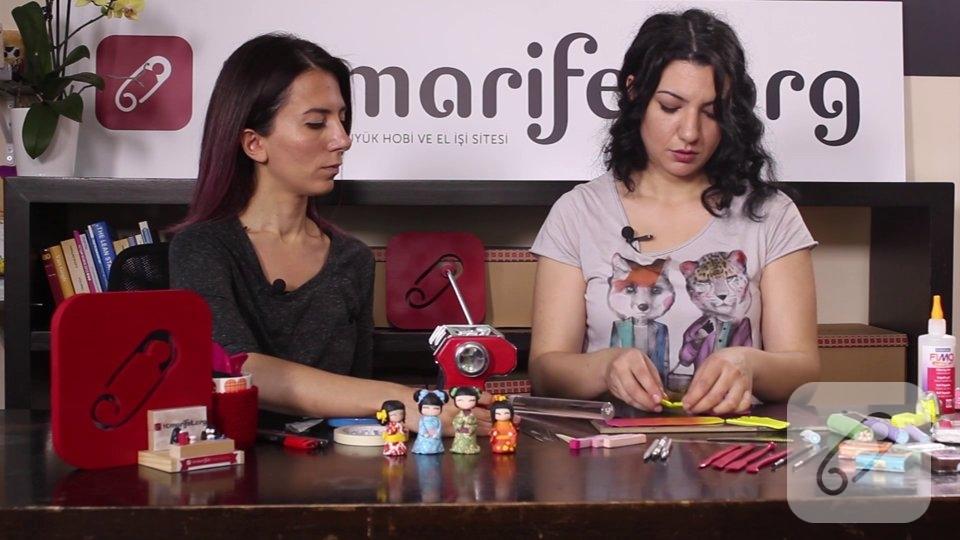 Video: Polimer kil ile renk geçişi, karışımı nasıl yapılır?
