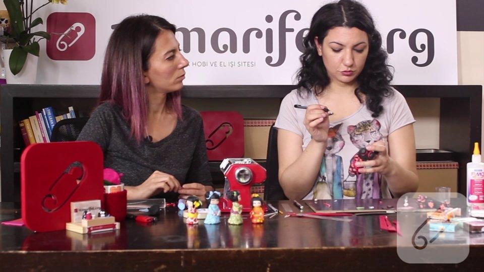 Video: Polimer kil süs bebek nasıl yapılır? – 2