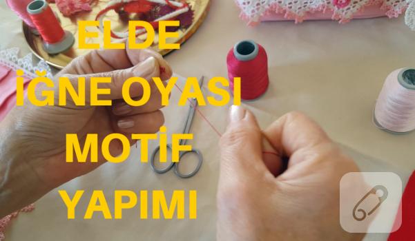Video: Parmakta iğne oyası nasıl yapılır?