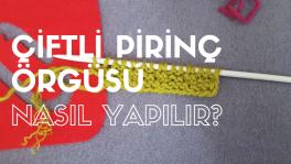 Video: Çiftli pirinç örgü nasıl yapılır?