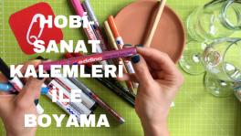 Video: Hobi-sanat kalemleri ile dekoratif boyama nasıl yapılır?