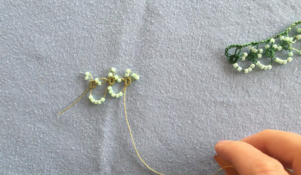 Video: Mekik oyası boncuklu bekar oyası yapımı