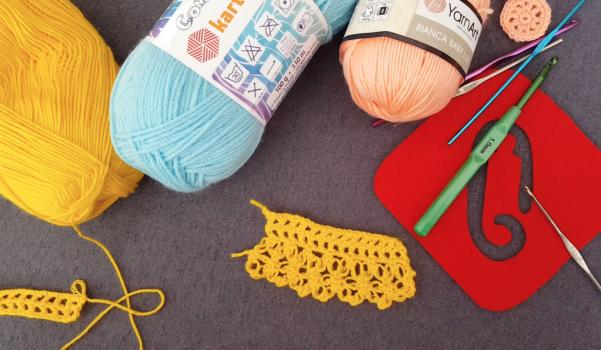 Video: Tığ işi havlu kenarı nasıl yapılır?