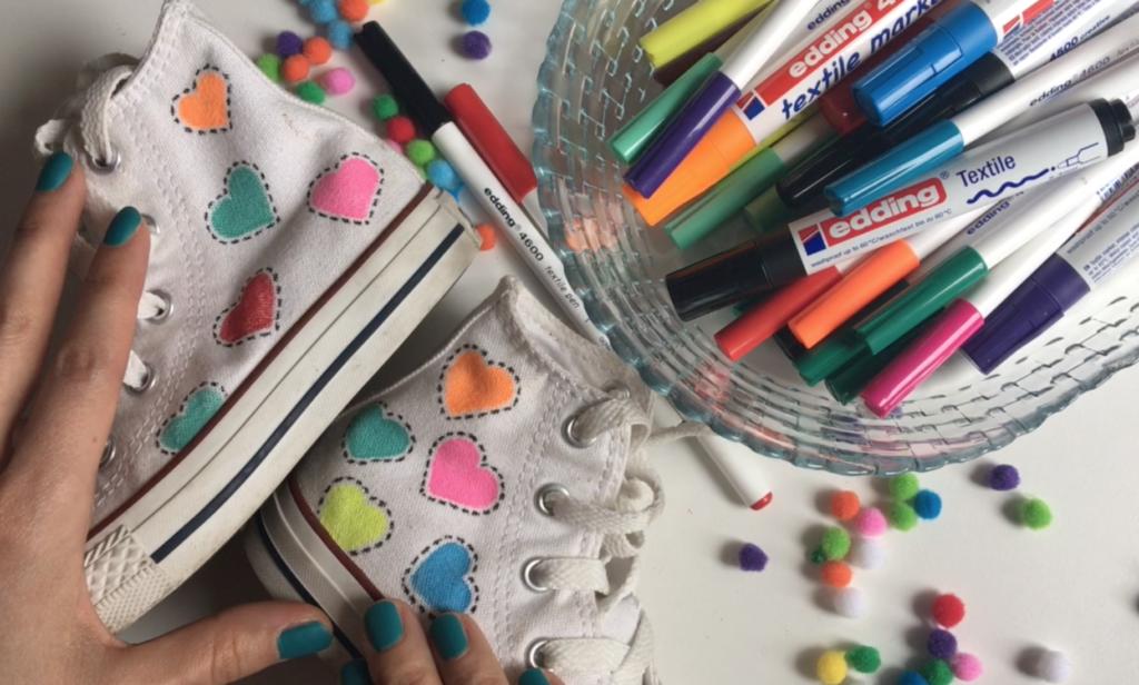 Video: edding tekstil kalemleri ile kumaş ayakkabı nasıl boyanır?