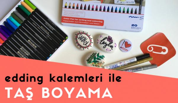 Video: edding keçeli kalemler ile taş nasıl boyanır?