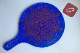 Video: Stencil ile dekoratif ahşap sunum tahtası süsleme