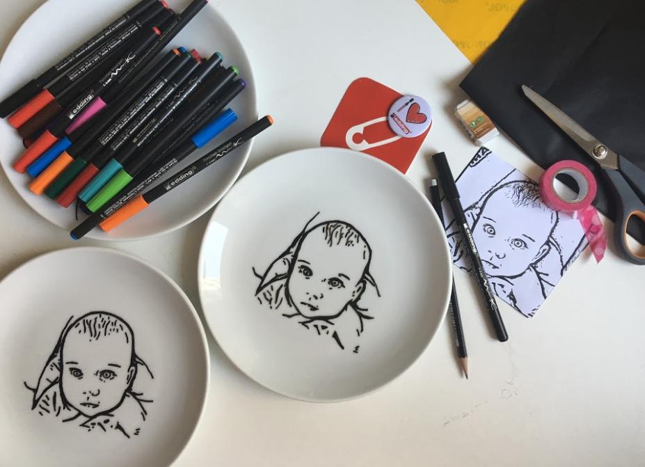 Porselen Kalemi Ile Tabak Boyama Nasıl Yapılır 10marifetorgda