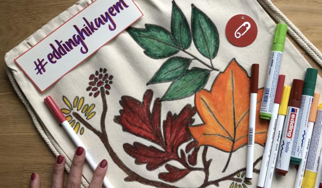 Hobi Kalemleri Ile Kumaş Boyama çanta Yapımı Videolu Anlatım